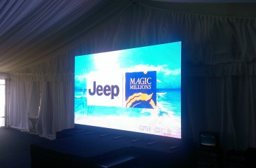 Perth Cup – 5mm LED Screen 2014