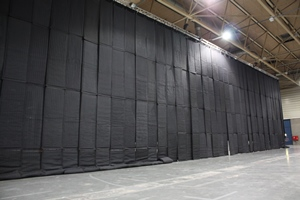 Sound Proofing Mobile Air Walls Perth Mega Vision