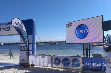Rottnest Channel Swim 2015