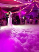 Dry Ice Machine for First Dance