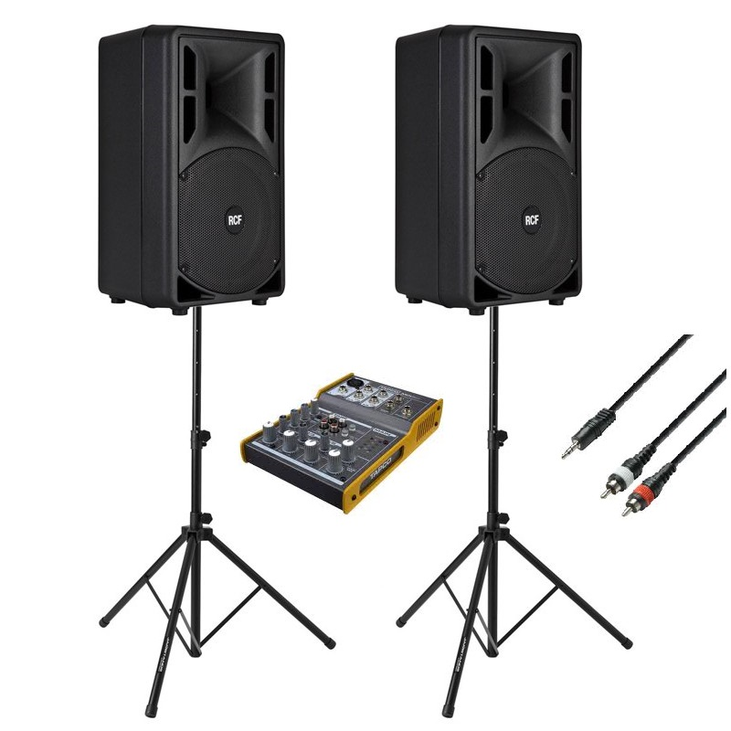 1800watt speaker package | Event Hire | Mega Vision