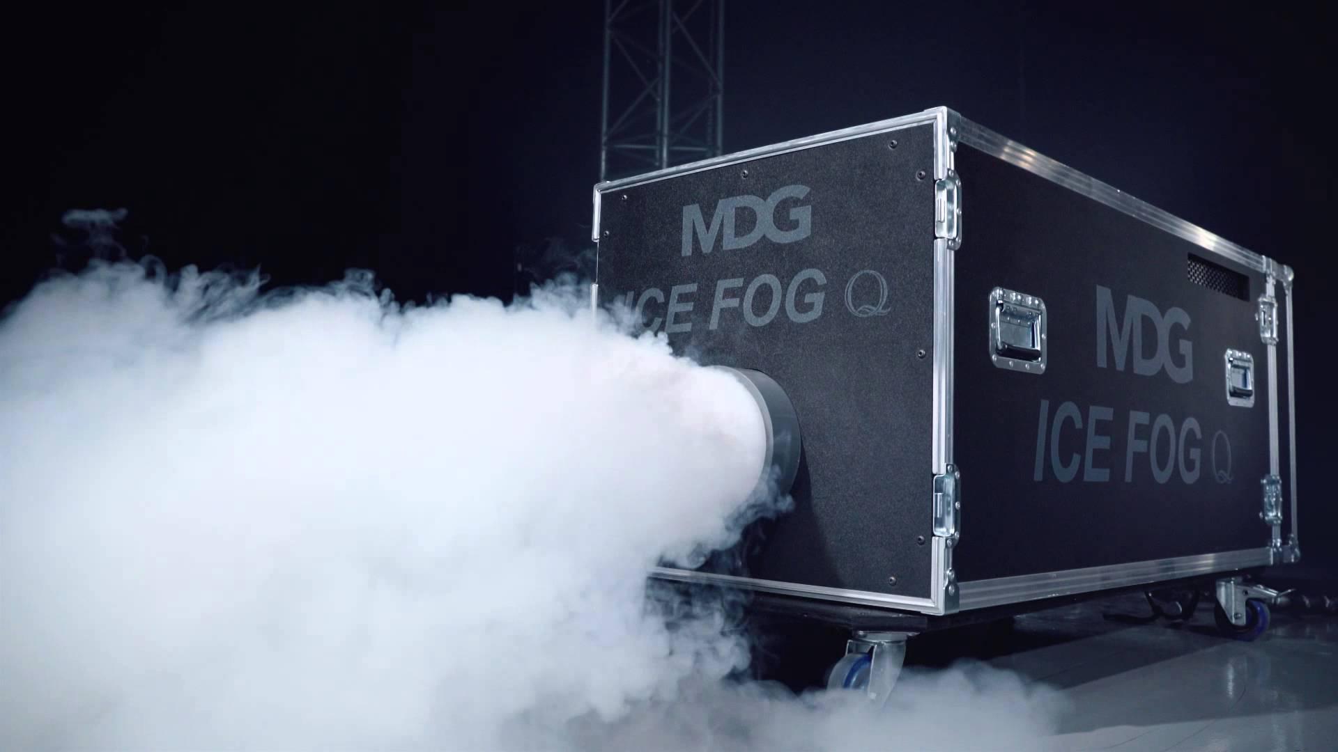 Mdg Ice Fog Compack High Pressure Low Fog Machine Mega