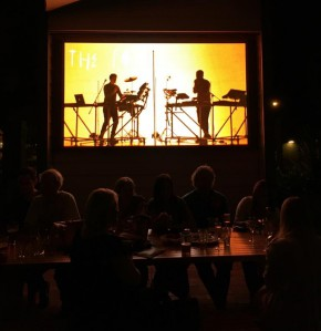 Music Videos on the big screen at The Dunsborough Hotel