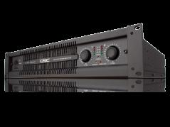 QSC PL325 1250W Power Amplifier Side View