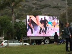 Mega VisionTrailer LED Screen