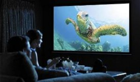 MovieNight-HomeTheaterProjector