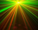 Red green laser FX light