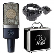 AKG C214 Condenser Mic with shock mount 2
