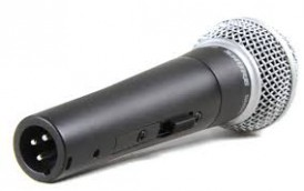 Shure SM58 Mic with switch