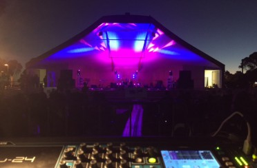 'Sweetwood' – Sunset at the Soundshell Kalgoorlie 2017