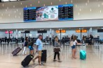 Perth International Airport LED screens