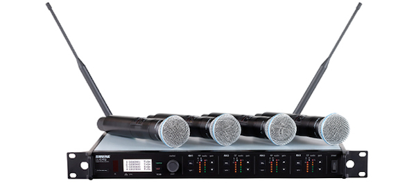 Shure Ulx D Digital Wireless Microphone Kit Mega Vision