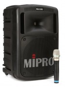 Mipro 808 - 250w portable PA with bluetooth