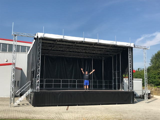 Portable Stage Hire Perth Event Hire Mega Vision